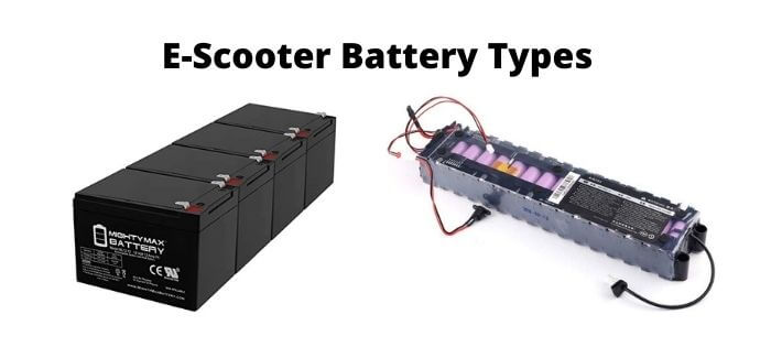 E-Scooter Battery Types